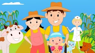 The Farmer in the Dell | Nursery Rhymes For Children | Cartoon Videos For Babies by Kids Tv