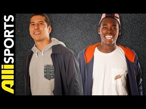 Theotis Beasley Vs. Omar Salazar Skate Trivia Challenge, Alli Sports HEAD2HEAD