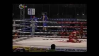 כתבה על הנצחון נגד האיראני באליפות העולם באיגרוף תאילנדי (2013)