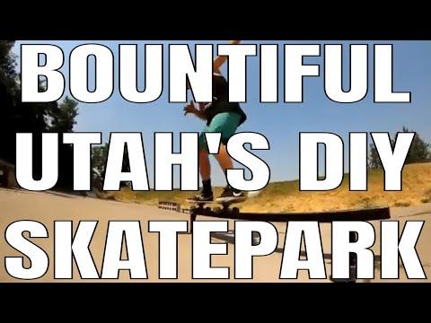 Random Skateboard Footage From Bountiful Utah