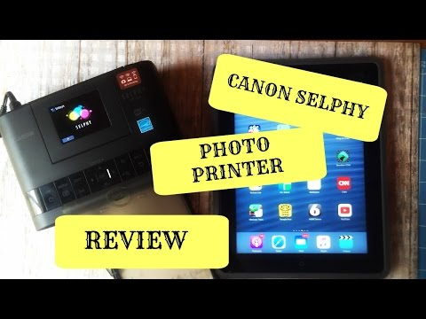 Selphy cp 1200 Photo Printer Review