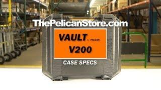 VAULT by Pelican™ V200 Case Specs