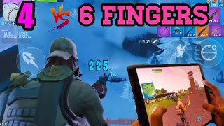 I Don T Need A Controller Fortnite Mobile 5 Finger Claw Handcam