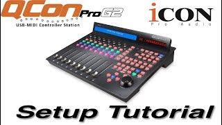 Icon Pro Audio: QCon Pro G2 DAW Controller Setup