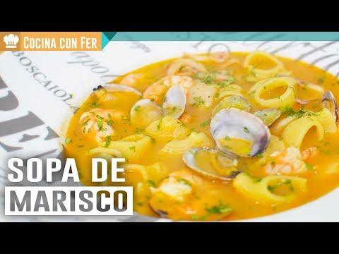 SOPA DE MARISCO | ESPECIAL NAVIDAD | Cocina con Fer