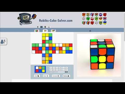 Rubik's Cube Solver - How to use?