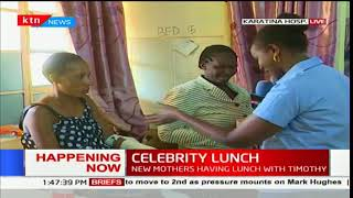 Celebrity Lunch: KTN Senior reporter Carol Nderi shares lunch with patients at the Karatina hospital