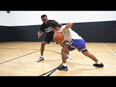 The Worst 1v1 Basketball Game Ever Played vs Julian Newman