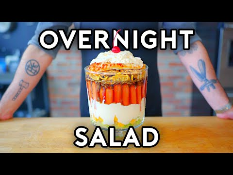 Overnight Salad from SNL | Binging with Babish