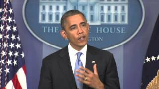 President Obama on hurricane Sandy