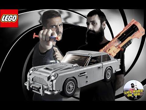 Vidéo LEGO Creator 10262 : James Bond Aston Martin DB5