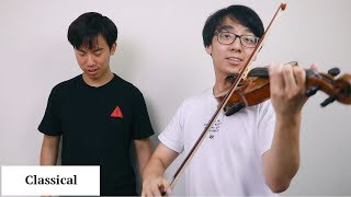 23 Different Musical Genres on the Violin
