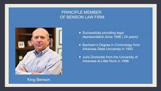 Benson Law Firm - Attorney Profile Paragould AR