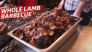 Testing North Carolina Barbecue Techniques on a Whole Lamb — Prime Time