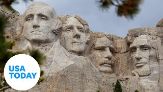 President Trump participates in 2020 Mount Rushmore Fireworks Celebration | USA TODAY
