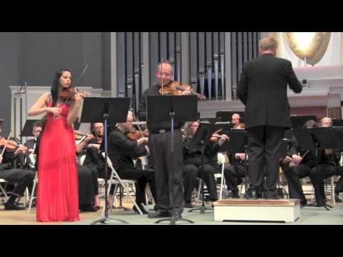 End of 3rd Movement of Mozart Sinfonia Concertante 2-8-15