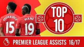 Top 10 kiến tạo tốt nhất của Liverpool mùa giải 20162017 các
