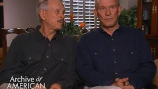 Tom and Dick Smothers on their early guest appearances on television - EMMYTVLEGENDS.ORG