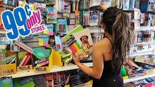 Back To SCHOOL SUPPLIES DOLLAR STORE EDITION!