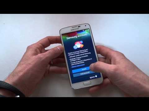 Foto Samsung Galaxy S5, Unboxing e primo avvio del Galaxy S5