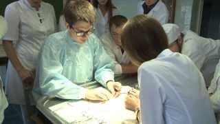 Лучший студент года на кафедре оперативной хирургии 2014