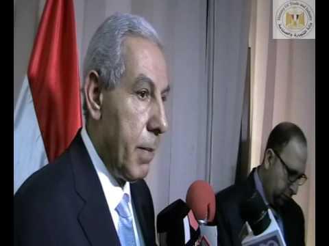 الوزير/طارق قابيل خلال اجتماع مجموعة العمل المصرية الصينية