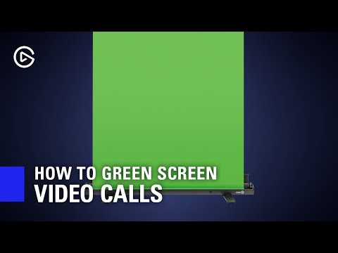 How to Green Screen Video Conference Calls