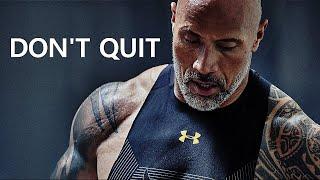 DONT QUIT - Motivational Workout Speech 2020