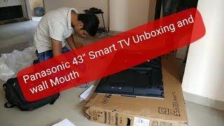 panasonic 55 inch smart tv unboxing - Kênh video giải trí