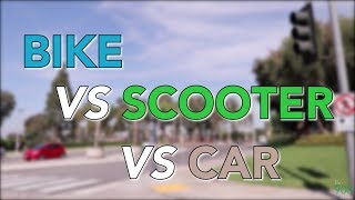 The 908 Show | Bikes vs Scooters vs Cars