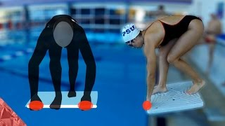 3 steps to learn a competitive start | dive (Freestyle, Butterfly and Breaststroke | breast stroke)