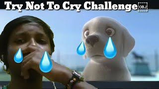 Try Not To Cry Challenge guarantee 99.9 a people crying 😢