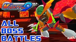 Mighty No. 9 - ALL BOSS BATTLES