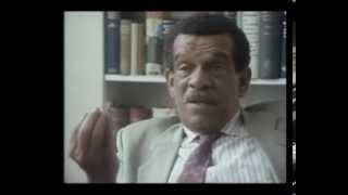 "Saint Lucia's Nobel Laureate Derek Walcott interview on his extended poem ""Omeros"""