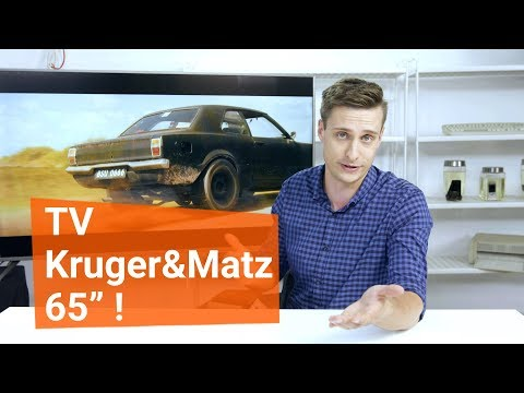65-calowy gigant - TV od Krüger&Matz!