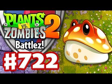Battlez! Toadstool! - Plants vs  Zombies 2 - Gameplay Walkthrough