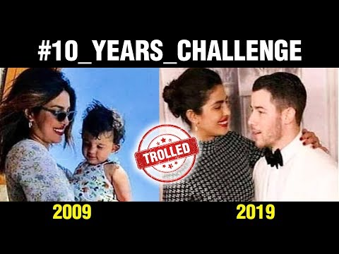 Priyanka Chopra Nick Jonas Get TROLLED For 10 Year