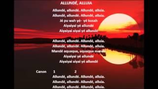 Allunde, Alluia