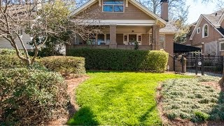 Charming Intown Atlanta Craftsman Style Home - 947 St Charles Ave