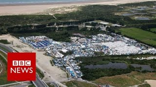 France begins to clear Calais camp - BBC News