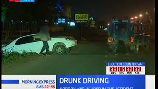 Drunk driving: Professor of chemistry causes accident in Mombasa road