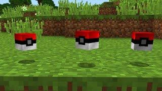 POKEBALL In Vanilla Minecraft Minecraft One Command Mods - Minecraft vanilla spielen
