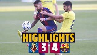 ⚽ HIGHLIGHTS   Villarreal B 3–4 Barça B    Second position secured 💪🔥