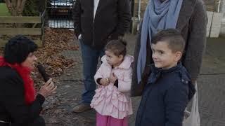Zonnig Welkom voor Sinterklaas in Hekelingen