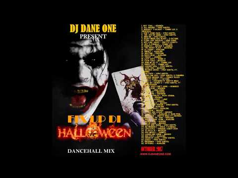 New Dancehall Mix October 2017 /Fi Up Di Halloween /Vybz KartelPopcaanAlkalineMavadoAidonia