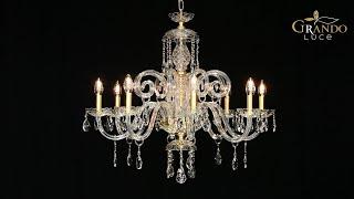 Iokasti Collection Crystal Chandeliers