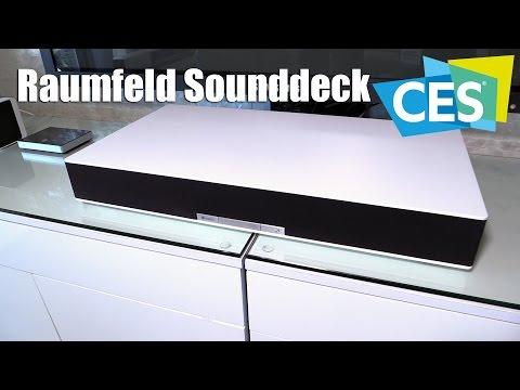 Raumfeld Sounddeck mit Wellenfeld-Technologie (CES 2016) | Allround-PC.com