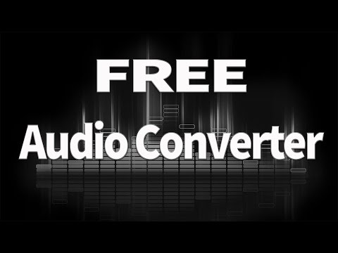 FREE Audio Converter For APPLE MAC OSX & PC Mp3