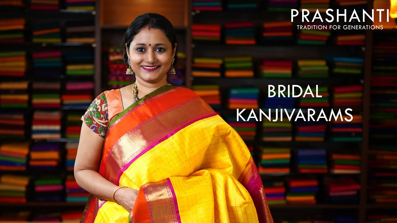 "<p style=""color: red"">Video : </p>Bridal Kanjivarams 