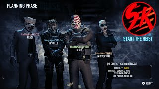 2.5 Million Dollar Contract (PayDay 2) PS4 Online w/ Randoms!